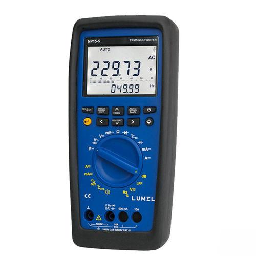 multimetro digitale / portatile / tascabile / 1000 V