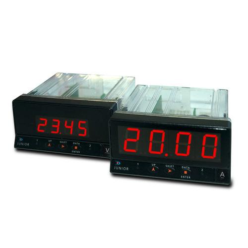 multimetro digitale / montato su pannello / 600 V / 5 A