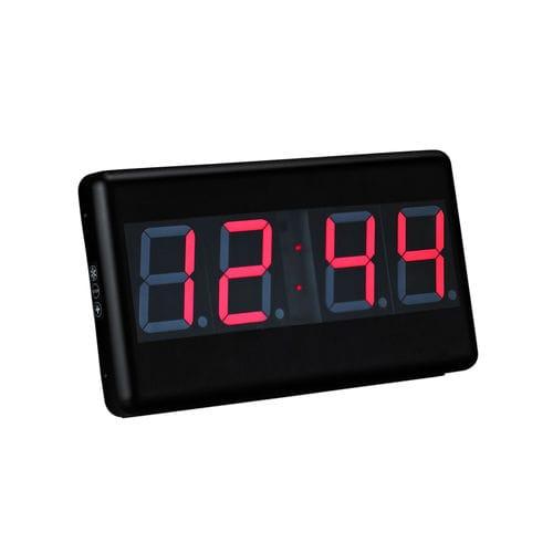 orologio digitale / LED / a 4 cifre