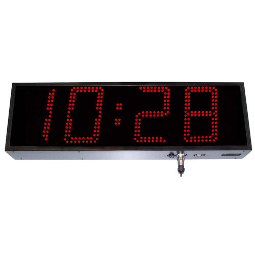 orologio digitale / LED / a 4 cifre