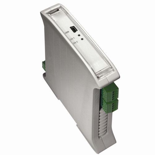 convertitore isolatore di segnale su guida DIN / a doppio canale