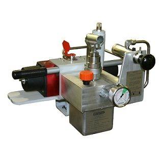 valvola a globo / a comando idraulico / di regolazione della pressione / in linea