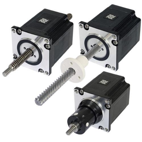 attuatore lineare / elettrico / passo passo / a motore