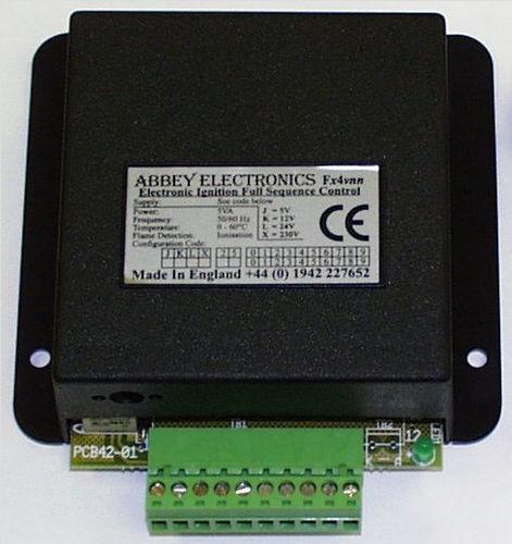 controllore di accensione per apparecco a gas