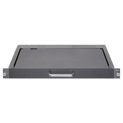 tastiera montata su rack-cassetto / a tasti meccanici / con sistema di puntamento / con schermo LCD