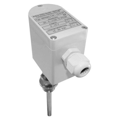 trasmettitore di umidità relativa / installato su condotto / con misura di temperatura / digitale