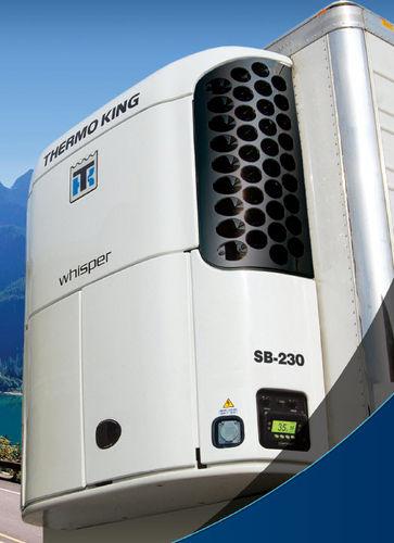 gruppo frigorifero mobile / per semirimorchio / mono temperatura