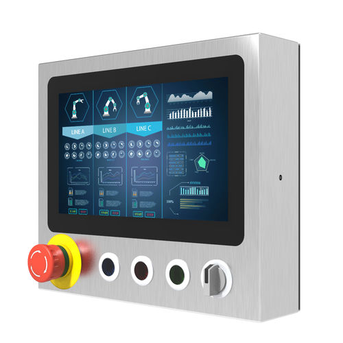 panel PC con touchscreen capacitivo PCAP - Winmate, Inc.