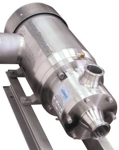 miscelatore a rotore-statore / su linea / per polvere / solido