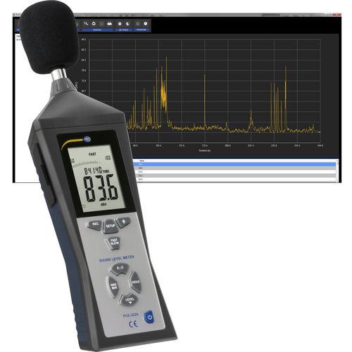 fonometro integratori / analizzatori / classe 2 / digitale
