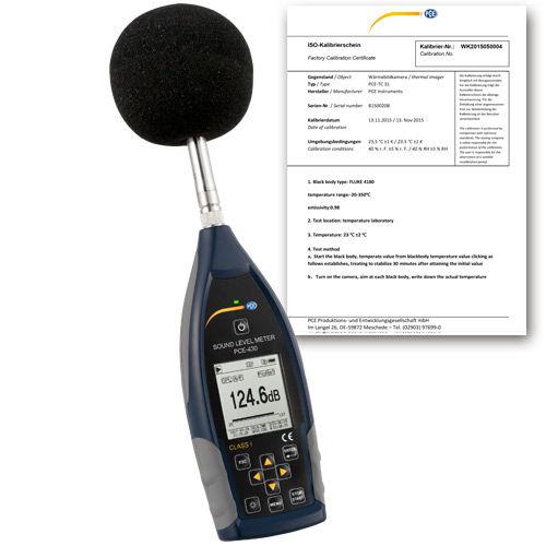 fonometro integratori / analizzatori / classe 1 / digitale