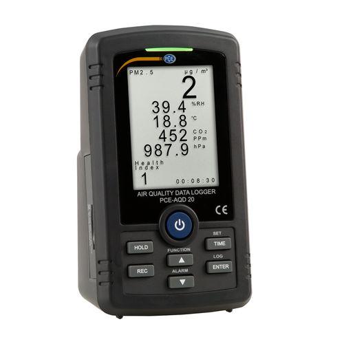 registratore di dati d'aria / di umidità / di pressione / di temperatura