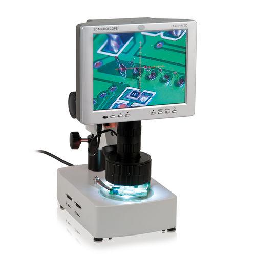 microscopio per analisi / ottico / 3D / assistito dal calcolatore