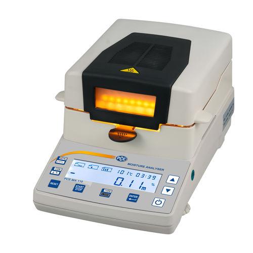 bilancia analizzatrice di umidità / con display LCD