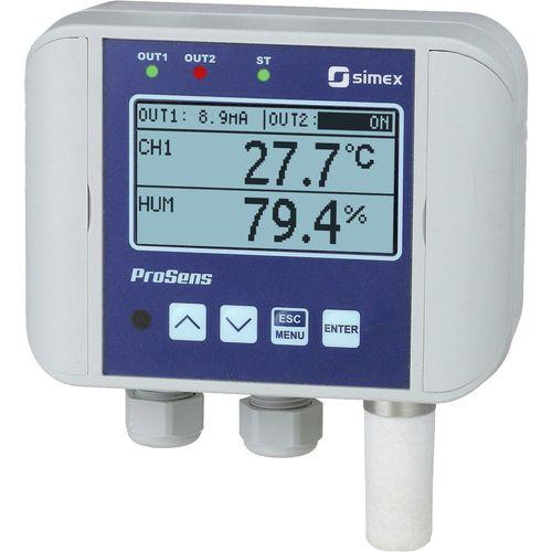 controllore di temperatura con regolazione dell'umidità
