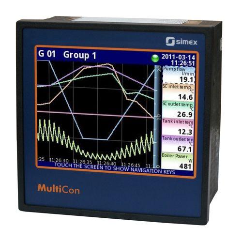 registratore di dati di umidità / di temperatura / universale / di pressione