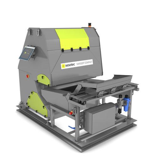 sistema di smistamento automatico / di metalli / per plastica