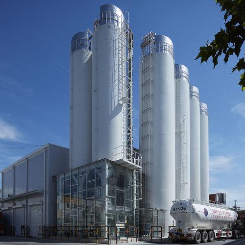 silo con fondi vibratori / in acciaio dolce
