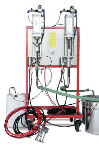 unità di spruzzatura di gelcoat / pneumatica