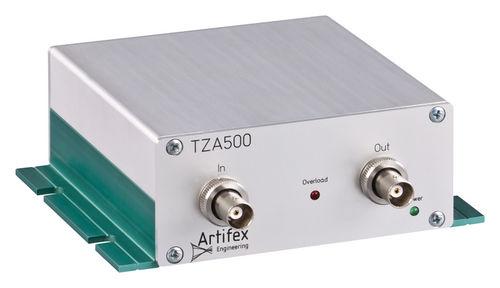 amplificatore di corrente / di transimpedenza / di misura / elettronico