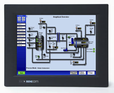 panel PC di LCD / touch screen / 12