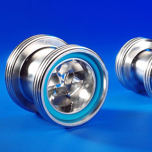 miscelatore statico / continuo / per liquidi / di gas