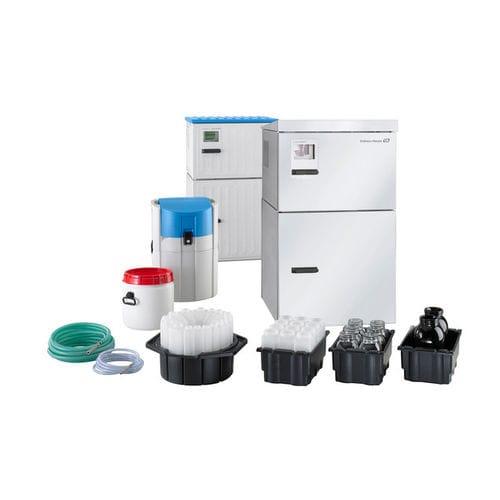 campionatore di liquidi / di acque reflue / automatico / fisso