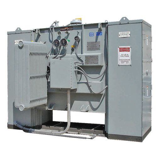 trasformatore di potenza / sommerso / a pavimento / di sottostazioni