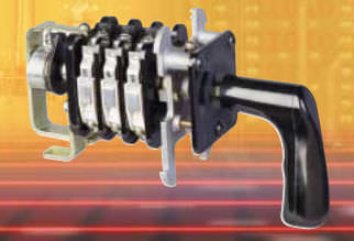 commutatore a camme / multipolare / montato su pannello / elettromeccanico