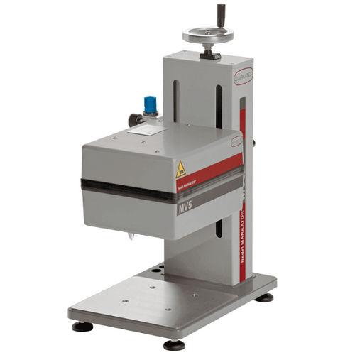 macchina di marcatura a graffio / benchtop