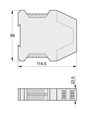 isolatore galvanico / di potenza / a sicurezza intrinseca