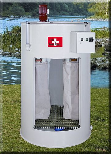 microimpianto di depurazione delle acque reflue biologico