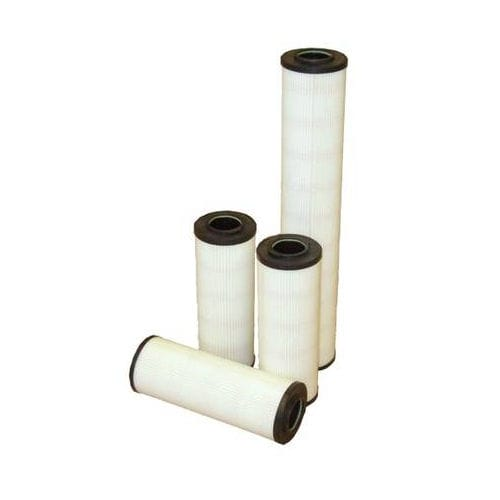 cartuccia filtrante ad acqua / per filtrazione fine / in fibra di vetro / ad alta capacità