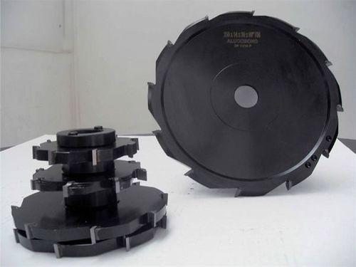 fresa tre taglie / integrale / HSS / per alluminio