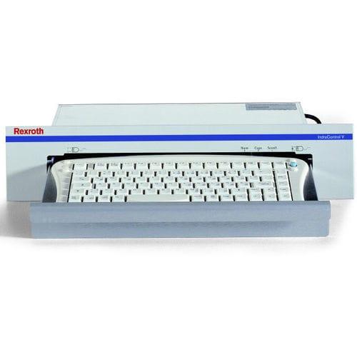 tastiera da ufficio / a tasti meccanici / con sistema di puntamento / integrata