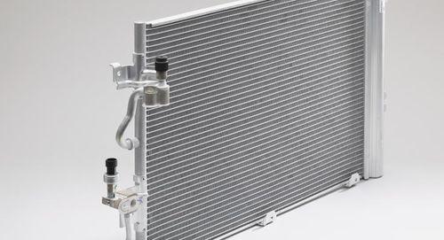 condensatore raffreddato / alluminizzato
