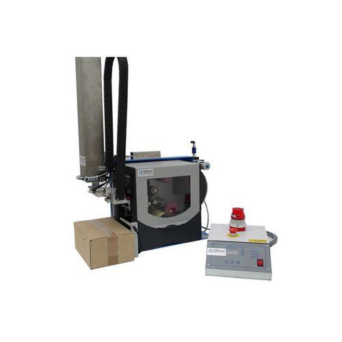 macchina da stampa e posa di etichette a trasferimento termico / monocromatica / per etichette / automatica