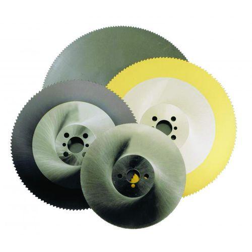 lama per sega circolare / HSS / per acciaio / per acciaio inossidabile