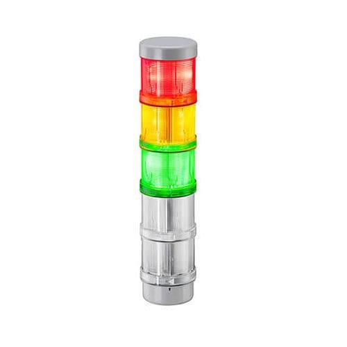 colonna luminosa LED / lampeggiante / a 3 colori / con buzzer