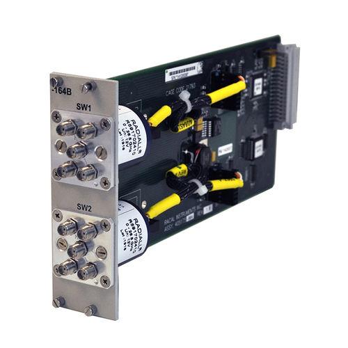 commutatore multipolare / elettromeccanico / RF / a microonde