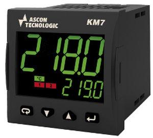 controllore di temperatura con doppio display a LED / programmabile / IP65