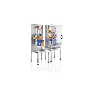 sistema di dosaggio volumetrico / per liquidi / per prodotti chimici