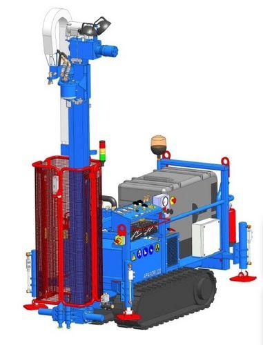 perforatrice geotecnica / cingolata / rotativa / idraulica
