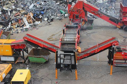smistatore magnetico / automatico / di metalli / industriale