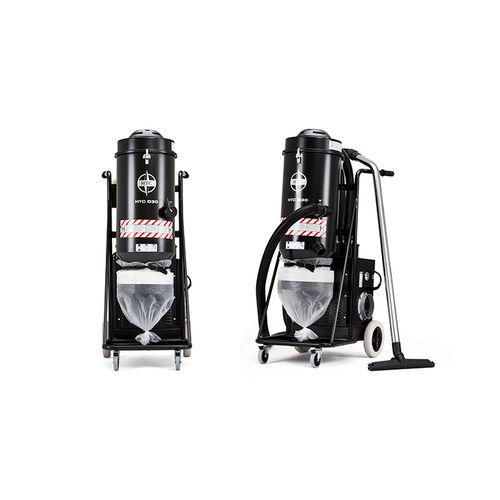 aspiratore monofase / industriale / su ruote / con filtro HEPA
