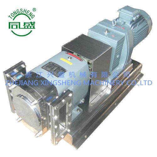 pompa per prodotti agroalimentari / elettrica / a lobi / industriale