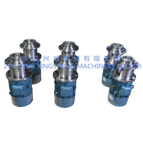 miscelatore a rotore-statore / discontinuo / liquido/solido / ad elevata azione di taglio