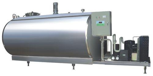 serbatoio per latte / in acciaio inossidabile / di stoccaggio / orizzontale
