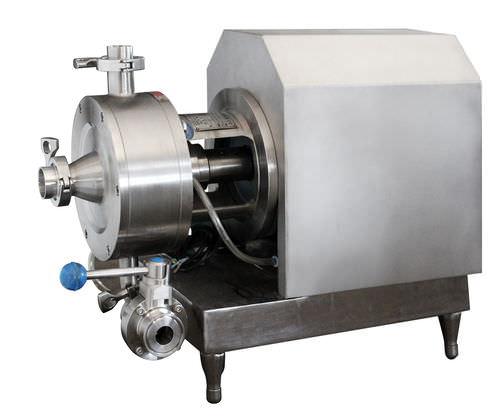 miscelatore a rotore-statore / continuo / liquido/solido / ad alta velocità