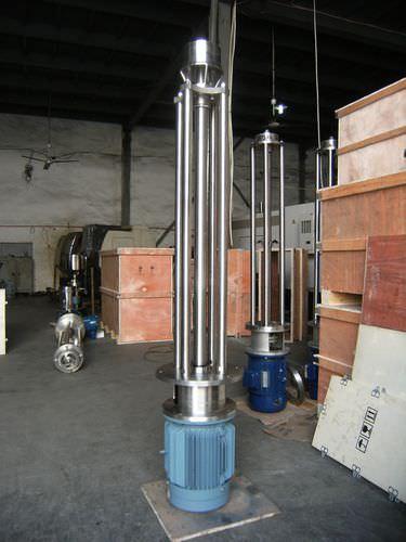 miscelatore a girante / discontinuo / di vernice / per polvere